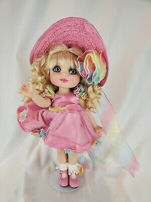 "MARIE OSMOND ""EASTER BONNET ON IT ADORA BELLE"" 12"" PORCELAIN EASTER DOLL"