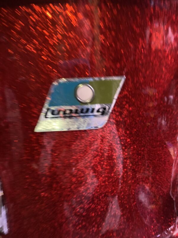 Ludwig 9x13 Red Sparkle Tom