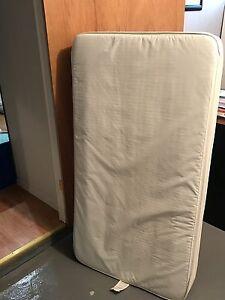 Ensemble matelas pour bassinette et barrière de protection