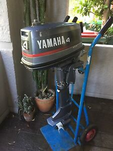 Outboard motor 4 hp Wembley Cambridge Area Preview