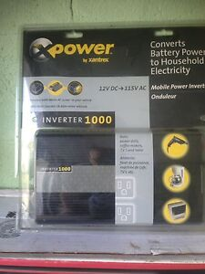 New Sealed Mobile Power Inverter 12V DC - 115V AC