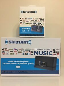 SiriusXM Starmate 8 car and home bundle