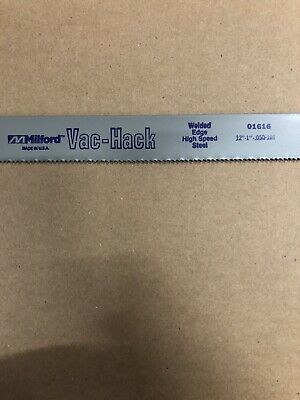 10pcs- 12 X 1 X .050 X 10t Power Hack Saw Blade Milford Welded Edge High Speed