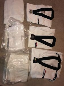 Taekwondo BBW uniforms, M & L sizes