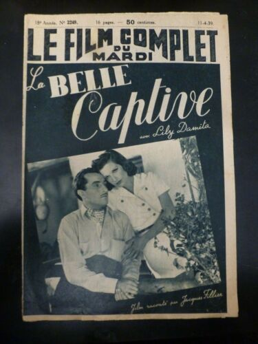 The Devil On Horseback(La Belle Captive)Lily Damit Le Film Complet(FR) 4/11/1939
