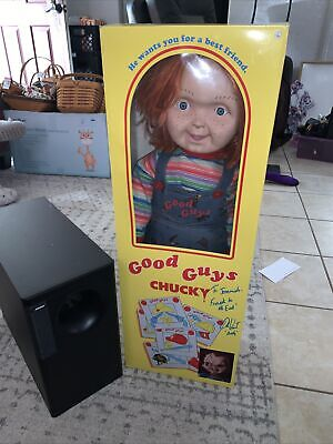 """Good Guys Chucky Doll 30"""" Life Size Spirit Halloween Signed By Andy"""