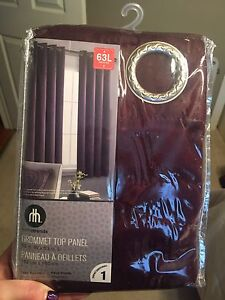 Faux Suade Top Panel Curtains