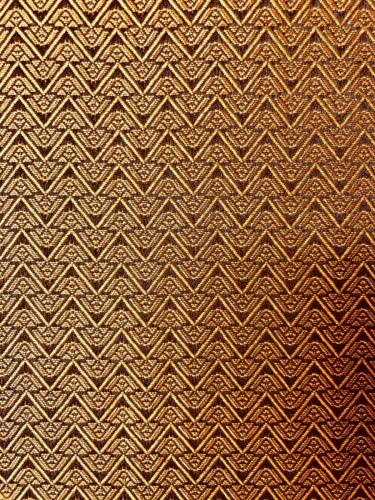 "Antique Radio Speaker/Grille Cloth, Pyramid (rev),18"" x 24"" , See description"