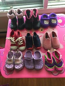 Girl's shoes and boots (size 6)