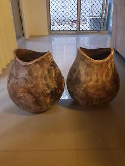 Wooden Pots
