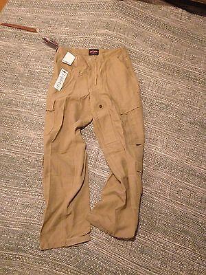 US Navy USN SEAL issued Medium Tru-Spec Coyote brown desert Combat Pants NWT NR