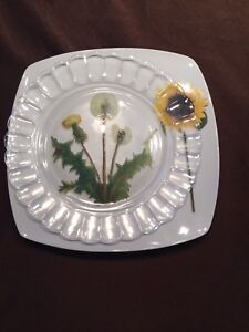 3 serving platters or trays