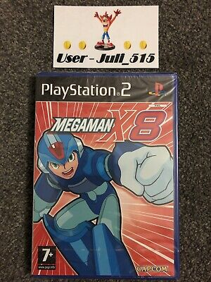 Playstation 2 Game: Megaman X8 (Superb Factory Sealed Condition) UK PAL PS2