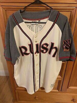 Rush Snakes & Arrows 2007 Tour Baseball Jersey Men's Size M