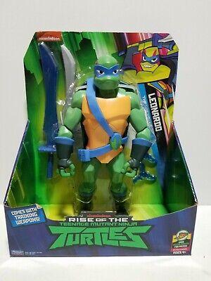 NIB Rise of the Teenage Mutant Ninja Turtle Leonardo Giant Figure](Leonardo The Ninja Turtle)