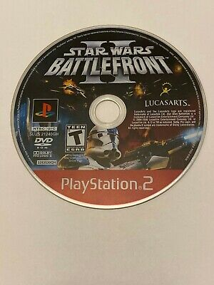 Star Wars Battlefront II PS2 DISC ONLY!