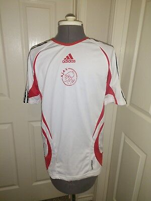 Vintage Adidas Ajax FC Soccer Jersey 1990's--2000s, Size Adult Small image