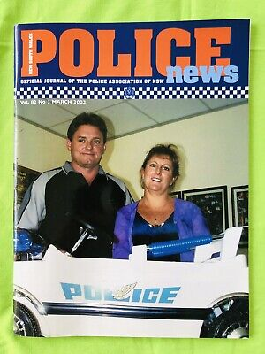 New South Wales Police News: PANSW Magazine. March 2002: Vol. 82. No 3. VGC.