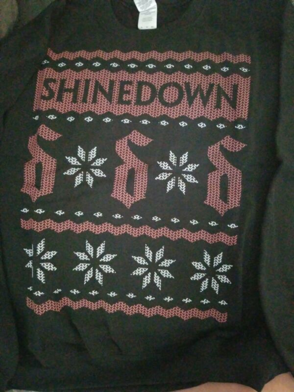 Shinedown Christmas Sweatshirt, X-lg