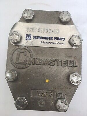 Oberdorfer Chemsteel Stainless Steel Gear Pump Sm2141fch-m1 Never Used