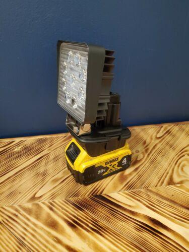 Dewalt 20v Floodlight, Work Light, Flash light, 27 Watt 60°