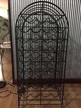 wrought iron wine rack Ravenswood Charters Towers Area Preview