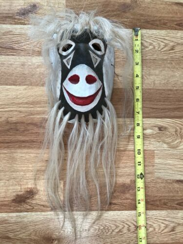 Vintage Sonora Yaqui Painted Native American Indian Pascola Dance Mask