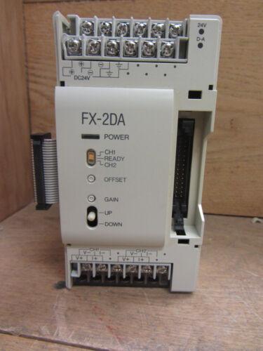 Mitsubishi Fx-2da Programmable Controller 24vdc Used Csq