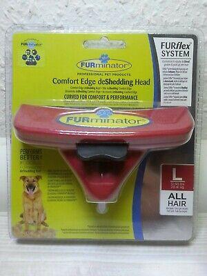 FURminaor FURflex Fellpflegebürsten DeShedding Tool für gr. Hunde L All-Hair