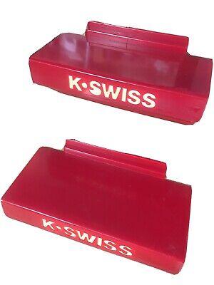 20 K Swiss Slatwall Shelves Shelf Shoe - Slat Wall Display Shelf - Thick Plastic