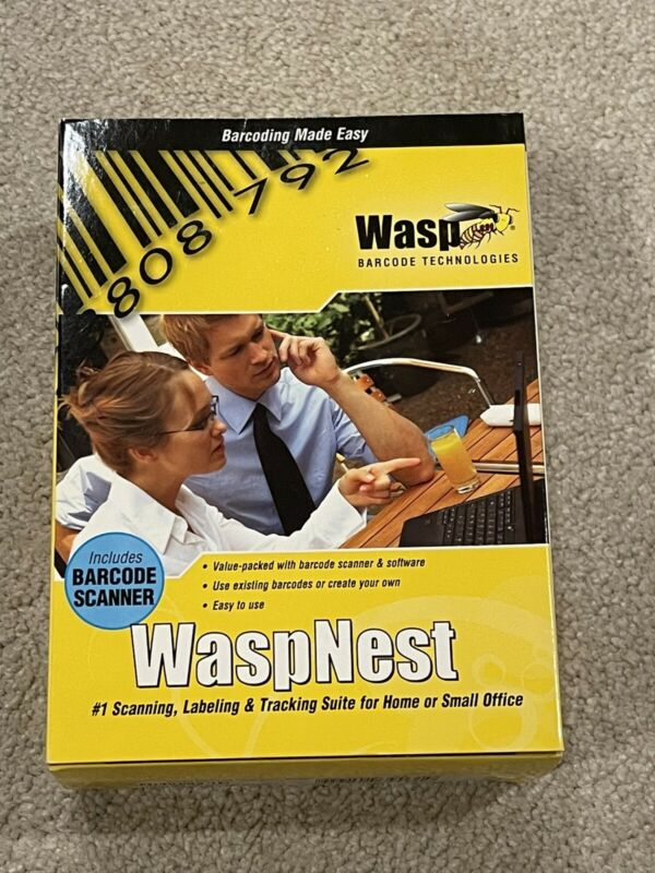 WASPNEST WASP BARCODE TECHNOLOGIES WASPNEST SUITE with WLS9500 USB Scanner