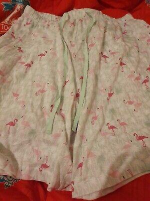 Lovely Ladies Karen Neuburger Pyjama Shorts Size 1x Approx 16-18