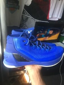 Blue Curry 3s