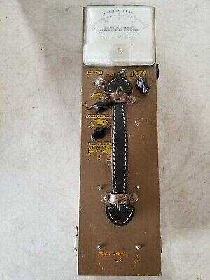 Vintage Oremaster Super Geiger Counter L3tsm-56