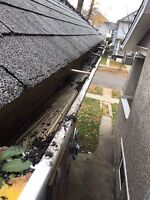 Eavestroughs/Gutters Cleaning Services