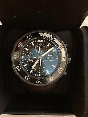 Men's IWC Aquatimer Galapagos Islands Ltd.Chronograph watch. IW376705