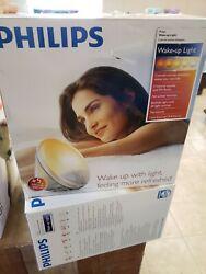 Philips Wake-Up Light Alarm Clock with Colored Sunrise Simulation and Sunset