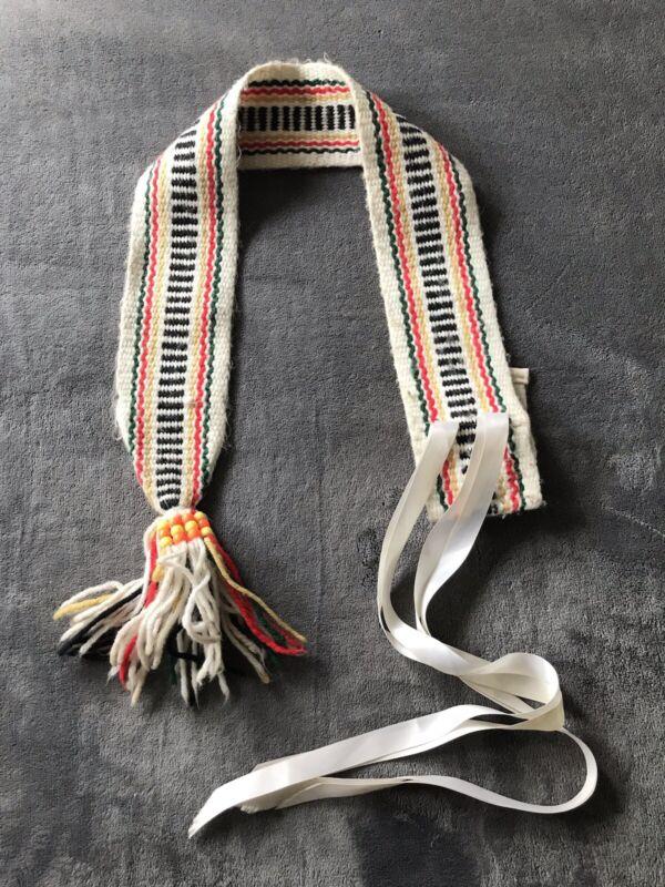 Hand Woven Antique/Vintage Belt Sash Southwestern Native American?