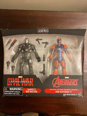 Marvel Legends Civil War/Iron Man 3 two pack - War Machine & Iron Man Mark 27
