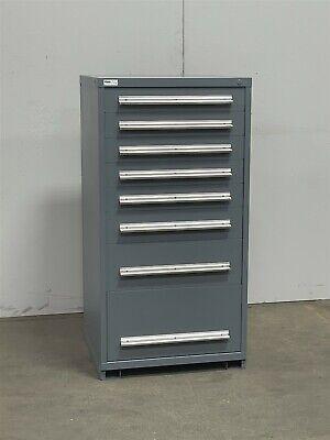 Used Stanley Vidmar 8 Drawer Modular Cabinet Industrial Tool Parts Storage 2355