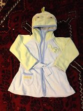 """Cute """"Soapasaurus"""" dressing gown, 0-9 months Dickson North Canberra Preview"""