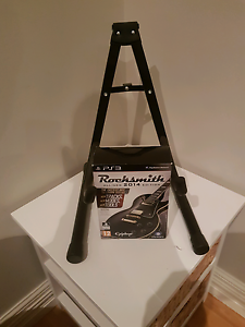 Rocksmith 2014 with stand game cable ps3 Port Kennedy Rockingham Area Preview