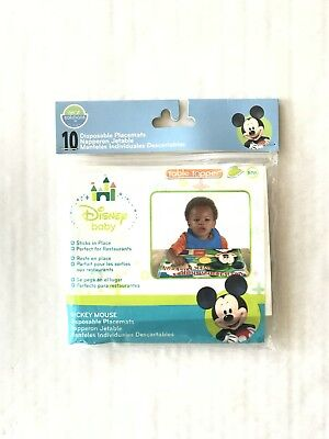 Neat Solutions Disney Baby Disposable Placemats (Package of 10) ***Brand - Disposable Placemats