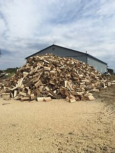 Seasoned firewood. 80$ delivered. 5 cord minimum