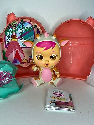 Cry Babies Magic Tears Gigi Doll Cute Giraffe Mini Collectible New 🦒