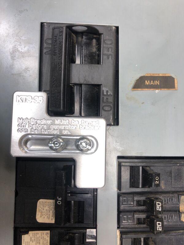 Generator Interlock Kit , Challenger 200 Amp Panel,Westinghouse 200 amp panel