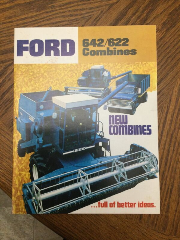 Ford 642 622 Combine Brochure