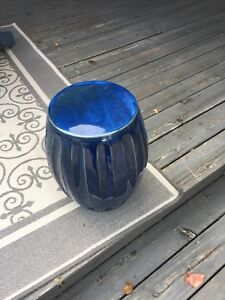 Ceramic end table