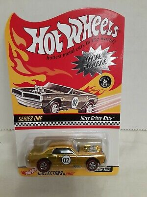 Hot Wheels Red Line Club RLC Online Exclusive Series One Nitty Gritty Kitty 4886