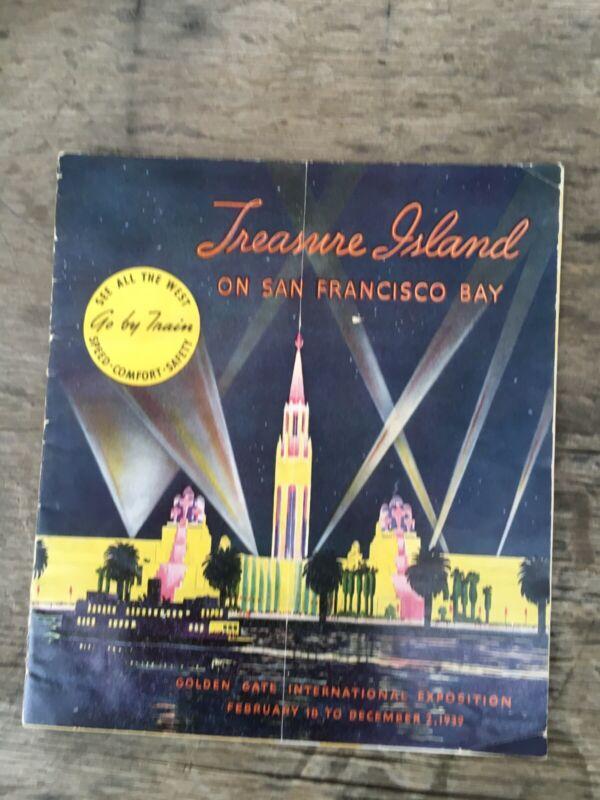 1939 Golden Gate International Exposition 20p GUIDE San Francisco World's Fair